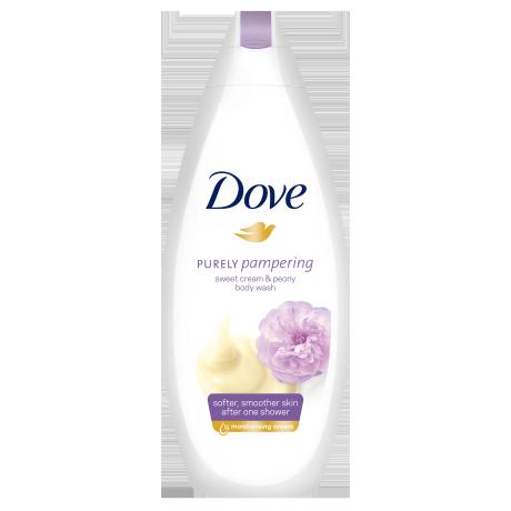 Dove Purely Pampering Zoete Crème & Pioenroos Douchecrème 250ml