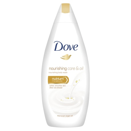 Dove Nourishing Care & Oil Shower Wash 250ml
