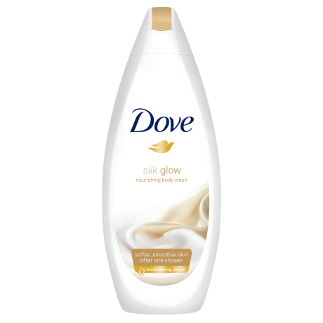 Dove Silk Glow Douchecrème 250ml