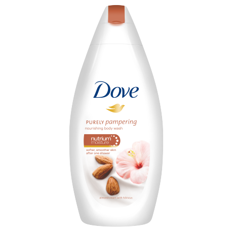 Dove Purely Pampering Amandel & Hibiscus Douchecrème   250ml