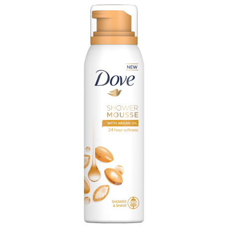 Dove Argan Oil Shower and Shave Mousse 200ml