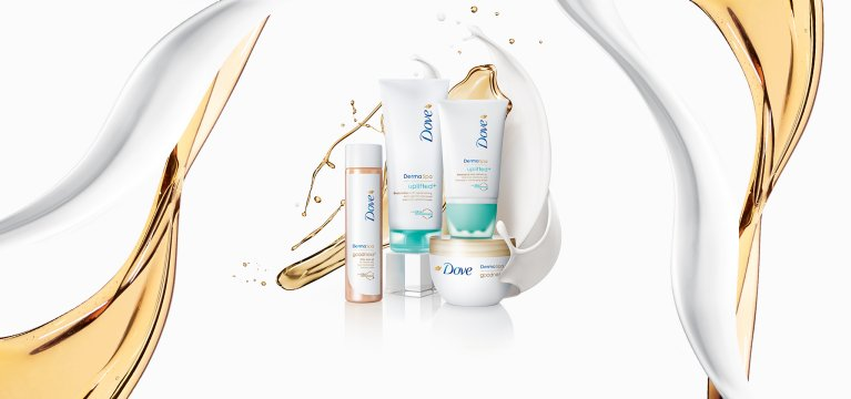 Dove DermaSpa body care collection