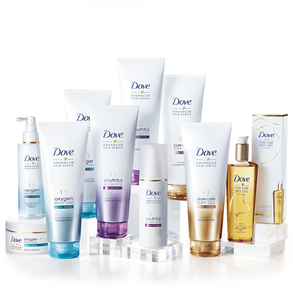 Dove Advanced Hair Series Tailored Advanced Hair Care Dove