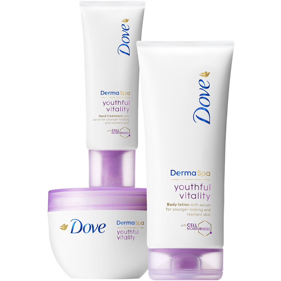 Rejuvenate Ageing Skin With Youthful Vitality Dove