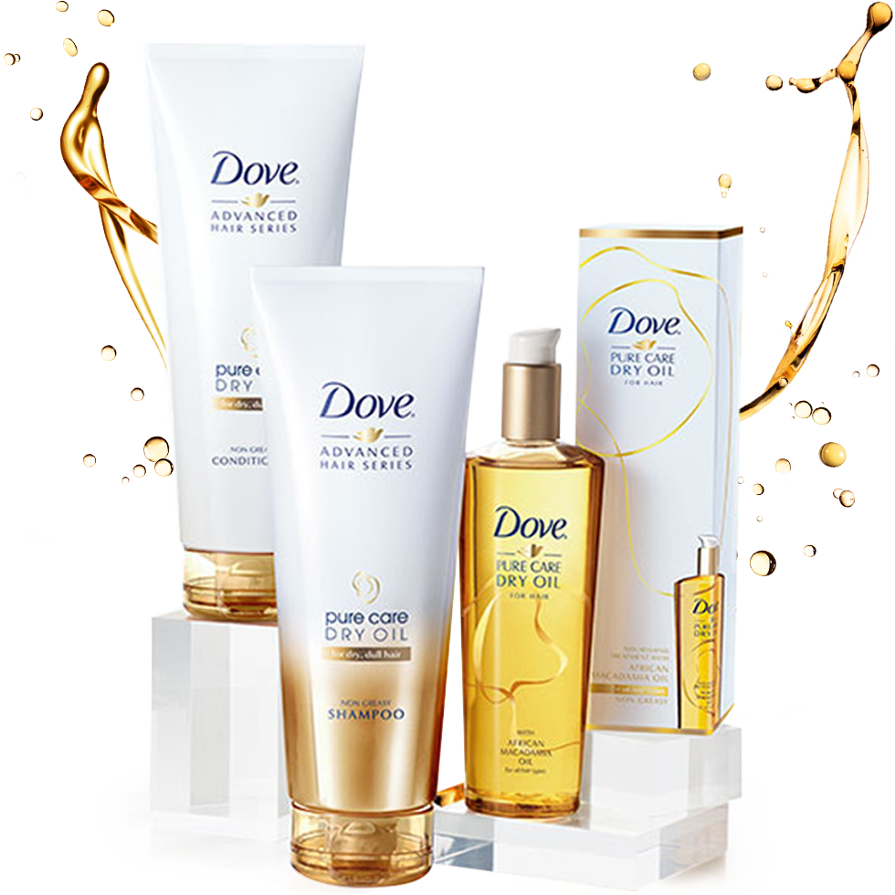 Dove Pure Care Dry Oil Product Collection Dove