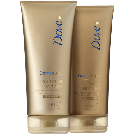 Dove DermSpa Summer Revived