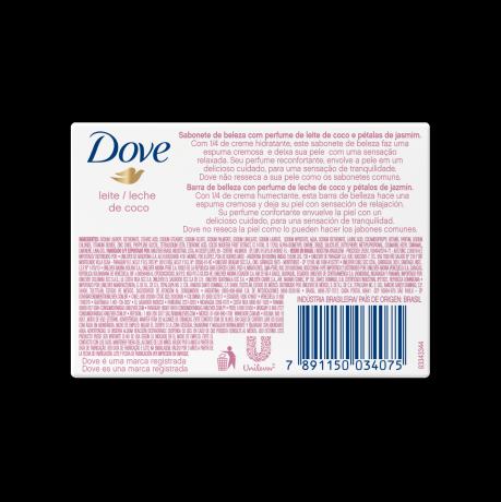 PNG - Jabon en barra Dove Leche de Coco BOP 90g