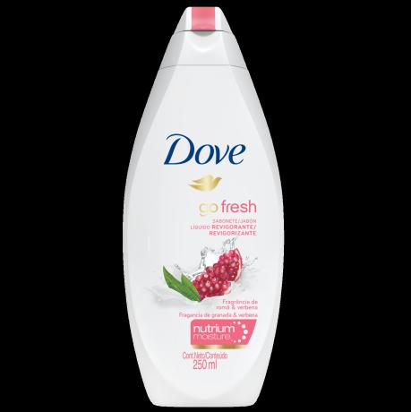 Jabón líquido para el cuerpo Dove Granada y Verbena