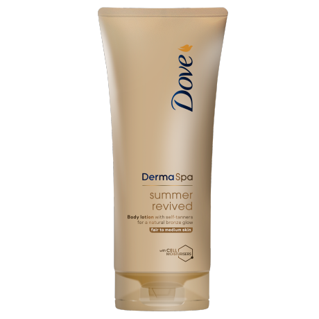 Dove DermaSpa Summer Revived Self-Tanning Body Lotion Fair to Medium 200ml