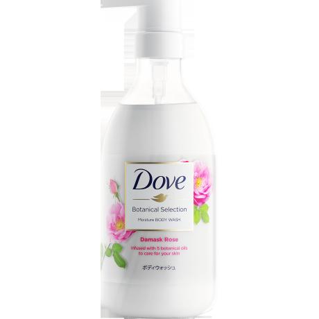 多芬日本植萃滋養沐浴乳 - 大馬士革玫瑰香氛