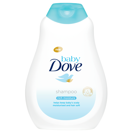 Baby Dove Rich Moisture sampon babáknak 400ml