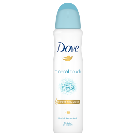 Dove Mineral Touch női izzadásgátló aeroszol 150ml