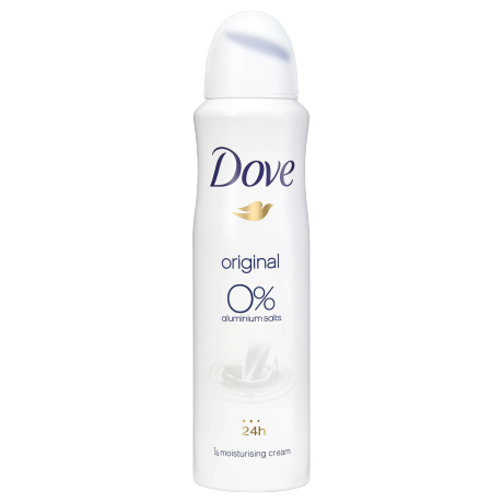 Dove Original dezodor 0% alumíniumsóval 150ml