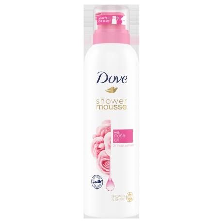 Dove Tusfürdőhab rózsaolajjal 200ml