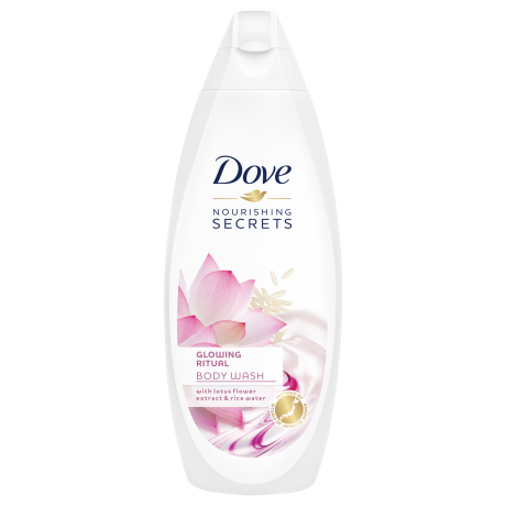 Dove Nourishing Secrets Glowing Ritual krémtusfürdő 250ml