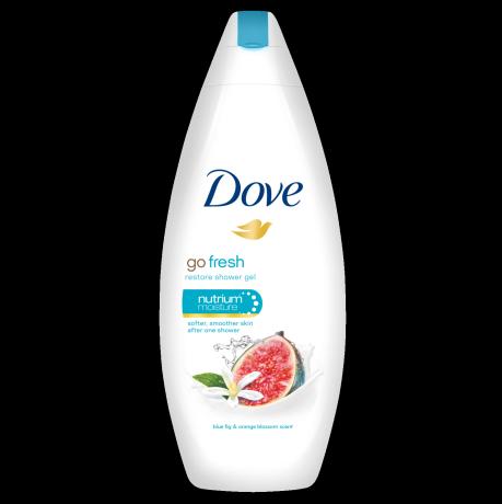 Dove Go Fresh Restore krémtusfürdő kék füge és narancsvirág illattal 250ml