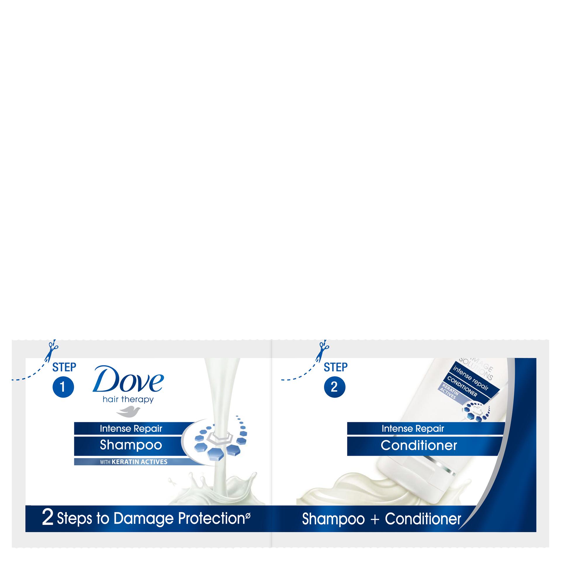 Shampoo For Dry Damaged Hair Dove Sunsilk Anti Dandruff 170ml Twin Pack