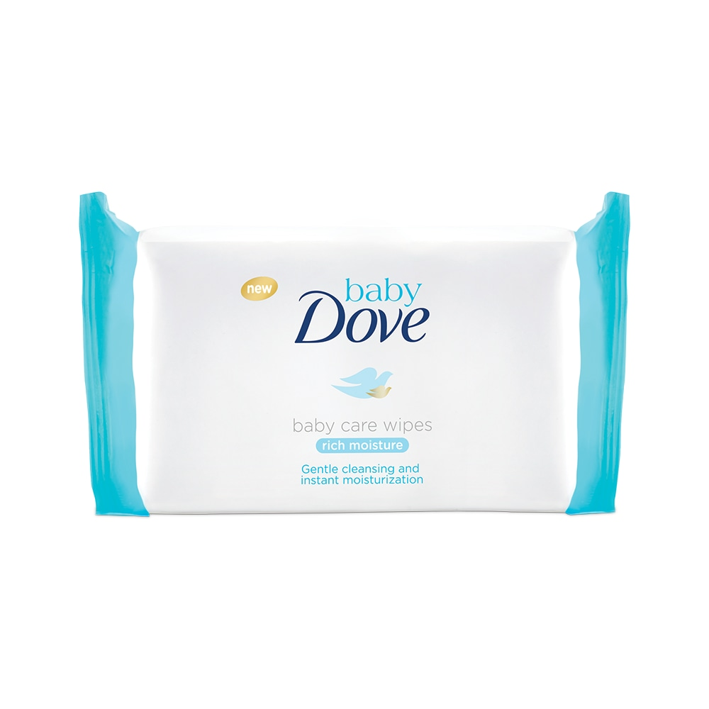 Baby Dove Rich Moisture Baby Care Wipes