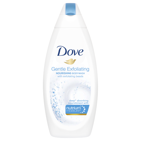 Dove Gentle Exfoliating Body Wash 200ml