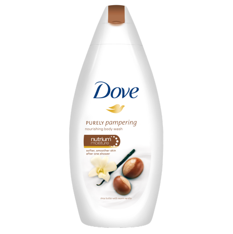 Dove Purely Pampering Shea Butter with Warm Vanilla Crème de Douche 250ml