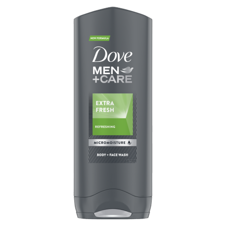 Dove Men+Care Extra Fresh body and face wash 250ml