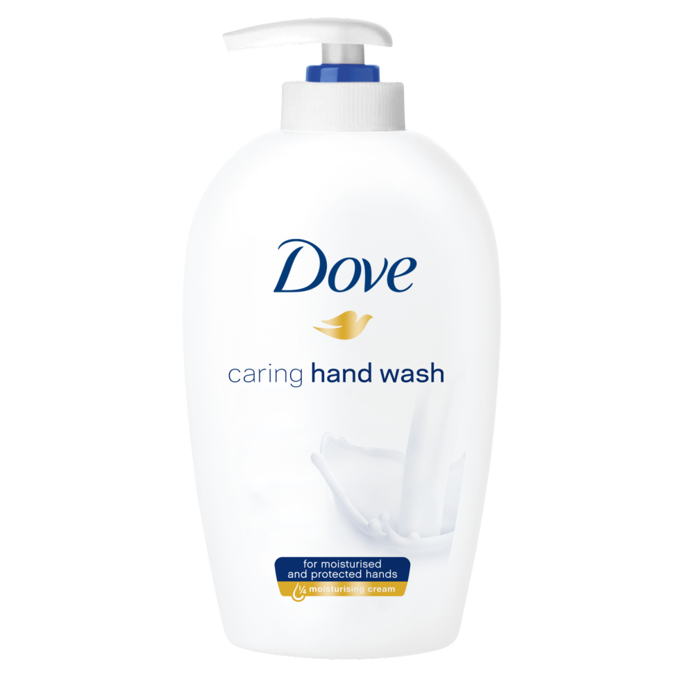 Hand soap and hand cream in 3 different colors close up