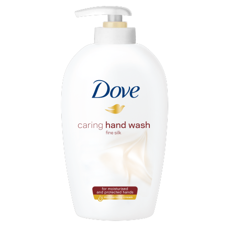 Dove Detergente Cremoso Setificante Pump 250ml