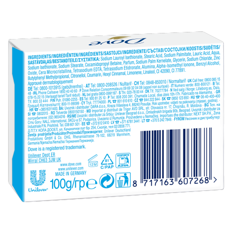 DOVE Gentle Exfoliating Bar Soapmultipack BOP 2x100gr 8717163607268 IT