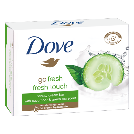 Dove Beauty Cream Bar Go Fresh 2x100g