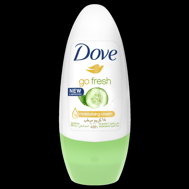 Dove Go Fresh Cucumber & Green Tea Roll-on Antiperspirant