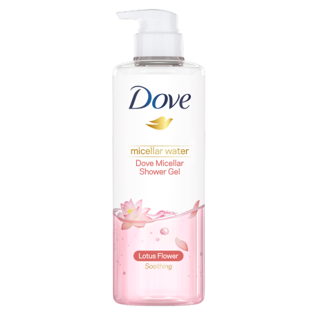 Dove Soothing Micellar Shower Gel 500g