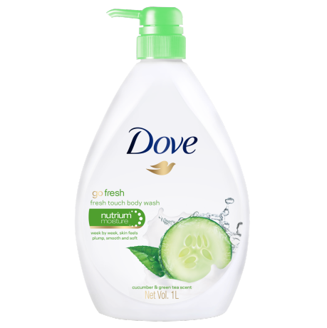 Dove Go Fresh Fresh Touch Body Wash 1000ml