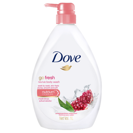 Dove Go Fresh Revive Body Wash 1000ml