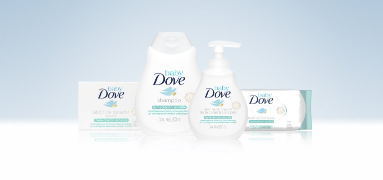 Baby Dove Sensitive sin fragancia
