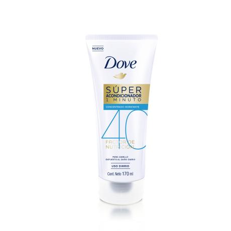 Súper Acondicionador Dove Factor de Nutrición 40. 170ml