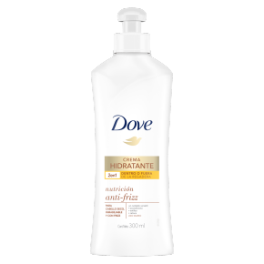 Dove Crema Hidratante Diaria Nutrición Anti-Frizz 300ml