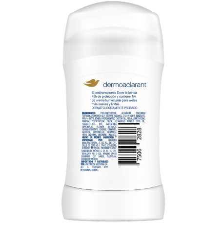 PNG - DOVE DEO STICK DERMO ACLARANT 12X50G