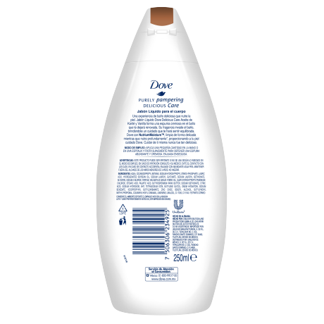 Dove Soap Pamper 250ml BOP 7506306234925 Skin Clean