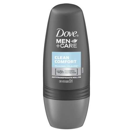 Dove Men+Care Antitranspirante en Roll-On Clean Comfort 50g