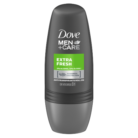 Dove Men+Care Antitranspirante en Roll-On Extra Fresh 50g