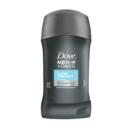 Desodorante Dove Men Clean Comfort Barra 50g