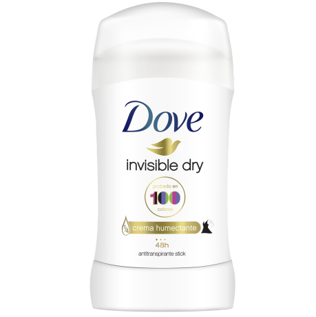 Dove Invisible Barra 50g