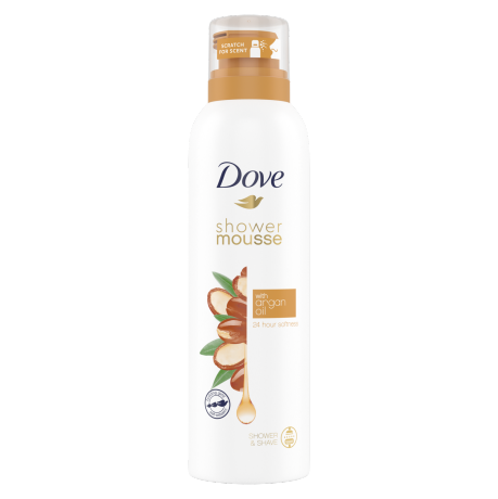 Dove Shower Mousse Argan Oil