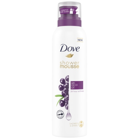Dove Shower Mousse Acai Oil 200 ml