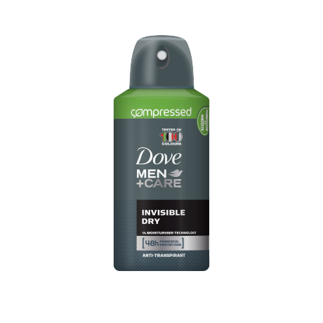 Dove Invisible Dry compressed deodorant spray 75ml