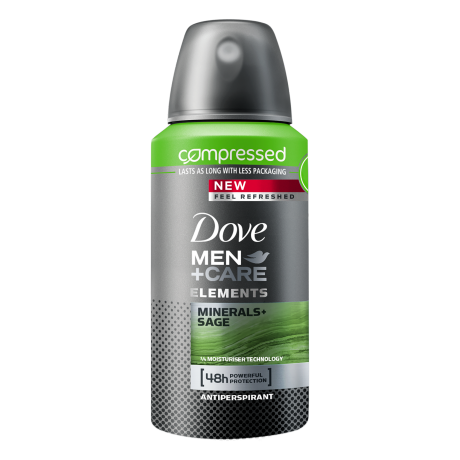Dove Elements Minerals + Sage Compressed Anti-Transpirant Spray
