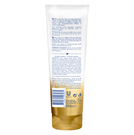 PNG - Dove Shampoo Pure Care Oil Wrap FOP&BOP 250ml 8712561493031 NL