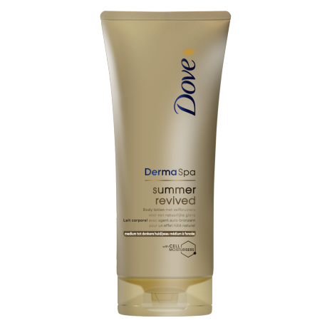 Dove DermaSpa Summer Revived Body Lotion (lichte tot medium huid) 200ml