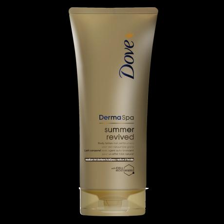 Dove DermaSpa Summer Revived Body Lotion (medium tot donkere huid) 200ml