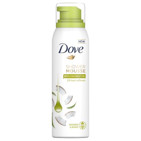 Dove Shower Mousse Coconut Oil
